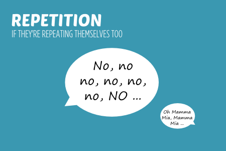Bish guide to no Repetition