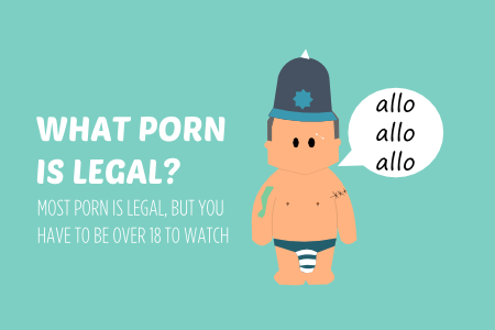 WHAT PORN IS LEGAL